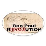 Ron Paul Preamble-C Oval Sticker (50 pk)