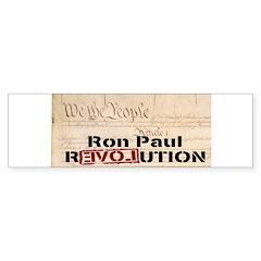 Ron Paul Preamble-C Bumper Bumper Sticker