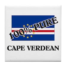 100 Percent CAPE VERDEAN Tile Coaster