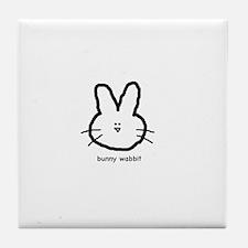 Bunny Wabbit Tile Coaster