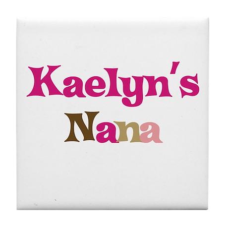 Kaelyn's Nana Tile Coaster