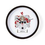 Morse Family Crest Wall Clock