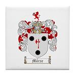 Morse Family Crest Tile Coaster