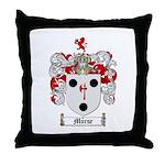 Morse Family Crest Throw Pillow
