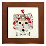 Morse Family Crest Framed Tile