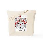 Morse Family Crest Tote Bag