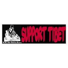 Support Tibet Bumper Bumper Sticker