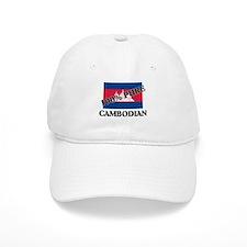 100 Percent CAMBODIAN Baseball Cap