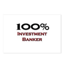 100 Percent Investment Banker Postcards (Package o