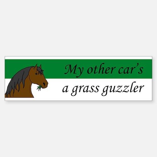 Horse Bumper Bumper Bumper Sticker