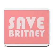 SAVE BRITNEY Mousepad