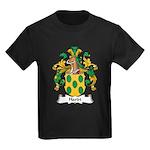 Hardt Family Crest Kids Dark T-Shirt