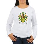 Hardt Family Crest Women's Long Sleeve T-Shirt