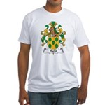 Hardt Family Crest Fitted T-Shirt