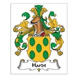 Hardt Family Crest Small Poster