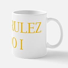 BRATS RULEZ SO DO I Mug