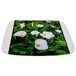 Field of Calla Lily Flowers Bathmat