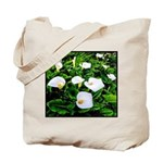Field of Calla Lily Flowers Tote Bag