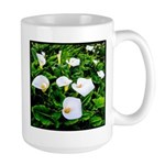 Field of Calla Lily Flowers Mugs