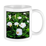 Field of Calla Lily Flowers Mugs