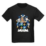 Hann Family Crest Kids Dark T-Shirt