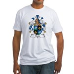 Hann Family Crest Fitted T-Shirt