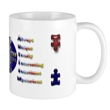 Let's Cure Autism Small Mug