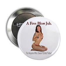 A Free Blow Job Anti-War Button
