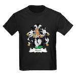 Hanel Family Crest Kids Dark T-Shirt