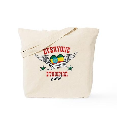 Everyone loves an Ethiopian girl Tote Bag