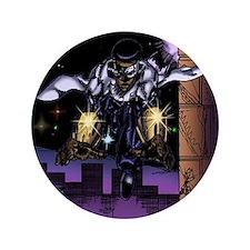 """Blackfox Comic Book 3.5"""" Button"""