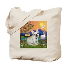 French Bulldog in Fantasyland Tote Bag