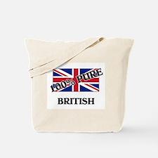 Cute British language Tote Bag