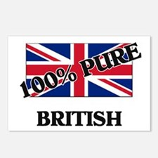 Cute British culture Postcards (Package of 8)