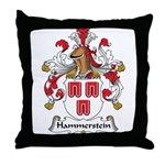 Hammerstein Family Crest Throw Pillow
