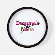Dwayne's Nana Wall Clock