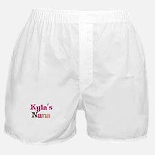 Kyla's Nana Boxer Shorts