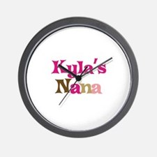 Kyla's Nana Wall Clock