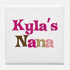 Kyla's Nana Tile Coaster
