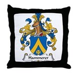 Hammerer Family Crest Throw Pillow