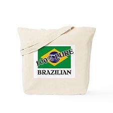 100 Percent BRAZILIAN Tote Bag