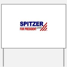 Spitzer for President Yard Sign