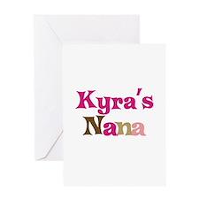 Kyra's Nana Greeting Card