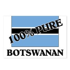 100 Percent BOTSWANAN Postcards (Package of 8)
