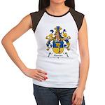 Haman Family Crest Women's Cap Sleeve T-Shirt