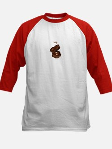 Bunny Wabbit Kids Baseball Jersey