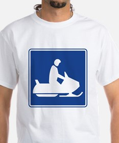 Snowmobiling Sign Shirt