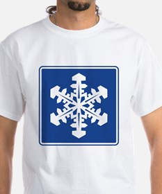 Winter Recreation Area Sign Shirt