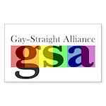 GSA Classic Rectangle Sticker 50 pk)