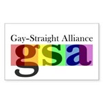 GSA Classic Rectangle Sticker 10 pk)